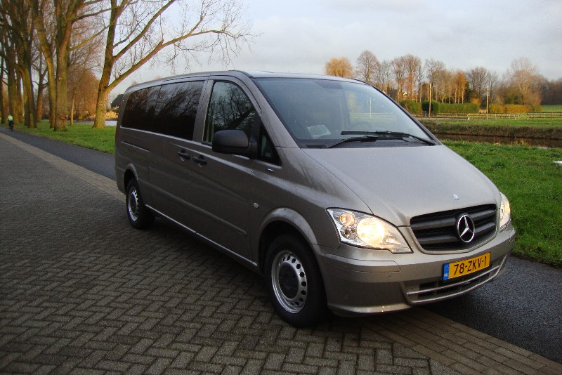MERCEDES VITO 113CDI  9 PERSOONS AUTOMAAT