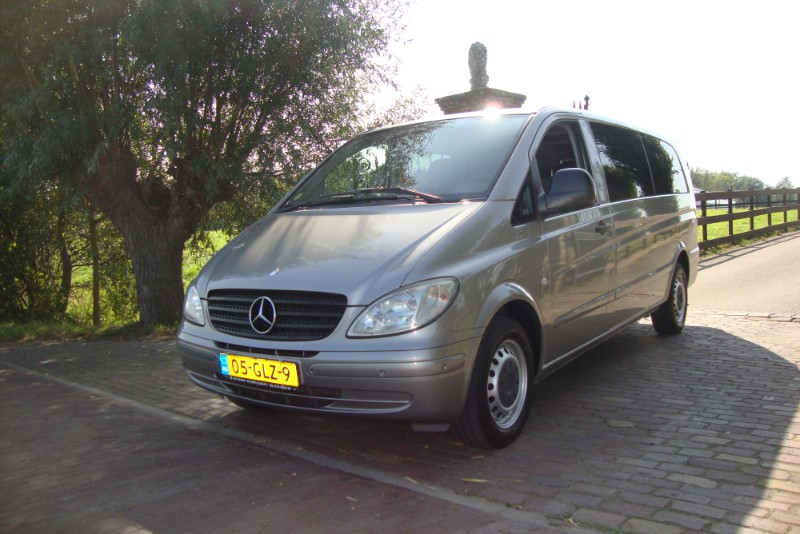 MERCEDES VITO 111CDI AUTOMAAT  8 PERSOONS